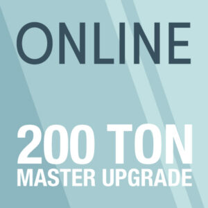 upgrade from 100 ton to 200 ton master image
