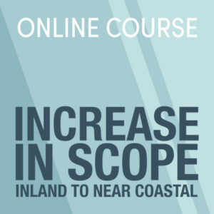 Increase in scope from great lakes and inland to near coastal master captains license