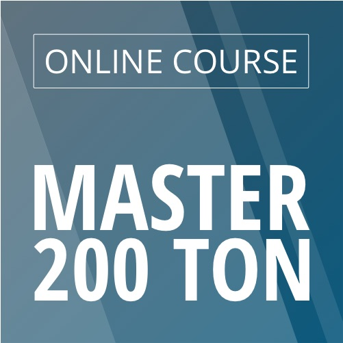 Online Upgrade 100 Tons to 200 Tons Course image