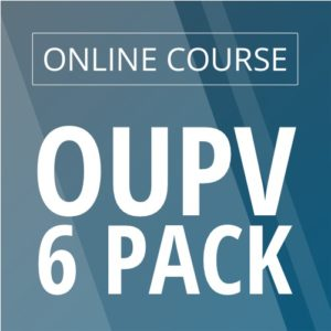 image online OUPV six pack course
