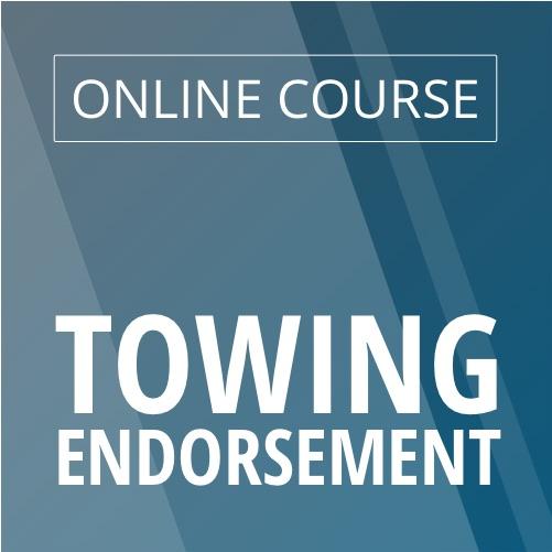 Online Towing Endorsement Course image