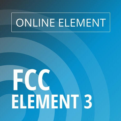 Online FCC Element 3 - General Radiotelephone Image