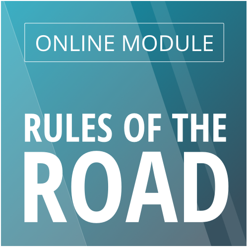 Online Rules of the Road Module Image
